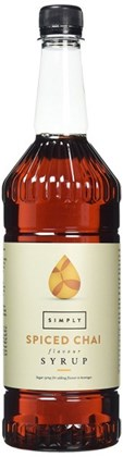 Simply Bottle of Spiced Chai Syrup 1L